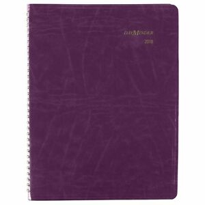 At a glance Dayminder Monthly Planner January 2018 December 2018 6 7 8 X