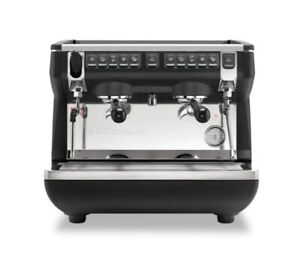 Nuova Simonelli Appia Compact Ii Volumetric 2 Group With Auto Steam Wand