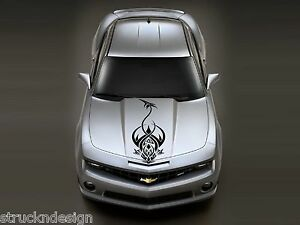 Dragon Tribal Graphic Vinyl Decal Hood Sticker Car Van Truck Vehicle Suv Camo