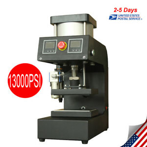 Pro Pneumatic Rosin Press Double sided Printing Time Control 0 13000psi Pressure