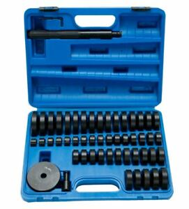 50pc Bearing Seal Driver Tool Set Custom Bushing Bearing Hydraulic Press 18 65mm
