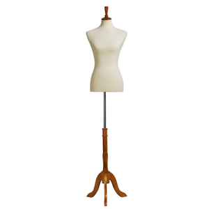 Songmics Female Mannequin Body Dress Form With Stand Medium Size 6 8 Non strai