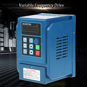 220v 380v Variable Frequency Drive Vfd Speed Controller Single 3 phase Ac Motor