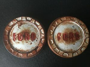 1958 1959 1960 Ford Truck Hub Caps Pick Up Shop Truck 1961 1962
