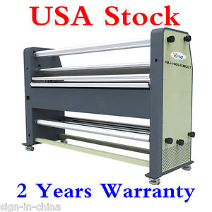 Usa Stock Ving 110v 63 New Type Full Auto Wide Format Hot Cold Laminator