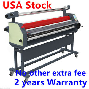 Us Stock 110v 63 Full Auto Wide Format Cold Laminator With Heat Assisted