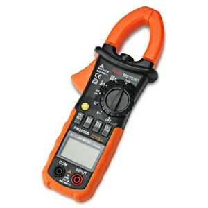 Digital Clamp Meter Dc Ac Volt Ac Amp Ohm Tester Peakmeter Ms2008a 2000 Counts