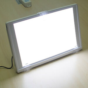 Full View Dental X ray Film Viewer Illuminator A4 one side Led Light Box Panel