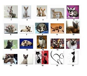 30 Personalized Return Address Labels Cats Buy 3 Get 1 Free cat1