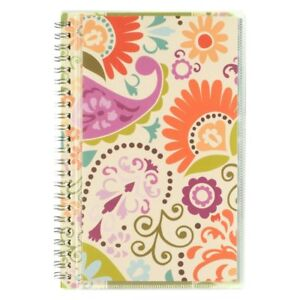 At a glance Monthly Planner Garden Party Design Academic Year 12 Months July