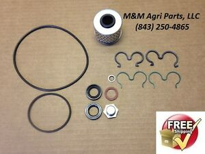Power Steering Pump Filter Kit Massey Ferguson 240 253 263 360 20f 40e Tractor