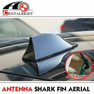 For 2001 2017 Toyota Prius Shark Fin Antenna Roof Radio Am Fm Aerial Mast Black