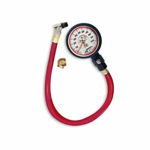 Longacre 52 52053 2 1 2 Deluxe Gid Analog Tire Gauge 0 100 Psi By 1 Lb