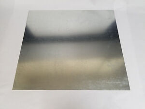 Galvanized Steel Sheet Metal 18 Gauge 36 X 48 Scrap Hvac Welding Rv Camper