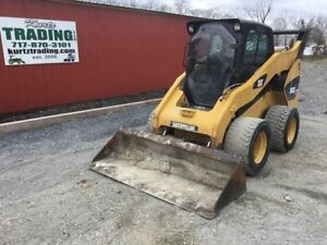 2010 Caterpillar 262c Skid Steer Loader W cab