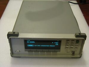 Hp Agilent 86120c Lightwave Optical Wavelength Meter 1270 1650mm