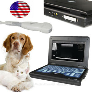 Us Stock veterinary Ultrasound Scanner Laptop Machine W Micro Convex Probe 5 0m