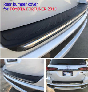 Rear Bumper Scuff Plate Cover Trim For All New Toyota Fortuner 2015 on Suv