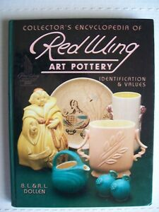 Red Wing Stoneware Price Guide Collectors Book Crocks Jugs Vases Compotes Bowls