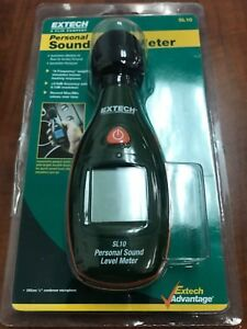 Extech Sl10 Sound Meter New Batteries Included