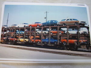 New 1977 Amc Gremlin Matador Others On Train Color 11 X 17 Photo Picture
