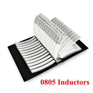 0805 Smd Inductors Kit 1nh 100uf 47 Value Assortment Sample Book 2350 Pcs
