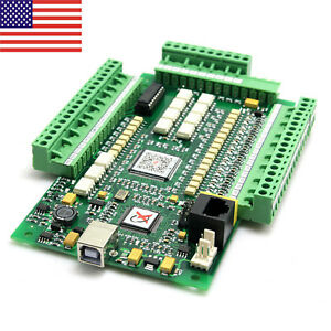 3 Axis Usb Cnc Stepper Motor Controller Motion Card Mach3 0 10v For Milling Us