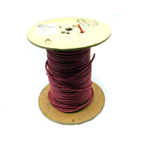 500 Ft Omni Cable E51293 General Purpose Red 6 Awg Electrical Wire Spool