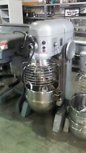 Hobart 60qt Mixer H600t ss Bowl Hook Single Phase 2 H p