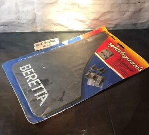vintage Chevrolet Beretta Splashguards Front Or Rear 1988 1995 Mud Flaps New