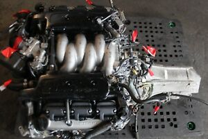 1991 1995 Honda Acura Legend 3 2 6cyl Engine And Auto Transmission Jdm C32a