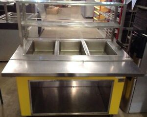 Delfield Kh 3 Shelleyglas 48 Three Well Portable Hot Food Buffet Steam Table