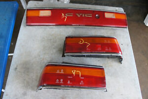 Jdm Honda Civic Ef2 Sh4 Kouki Taillights Garnish Reflector Conversion 90 91 Ef