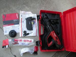 Hilti Dx 460 Mx 72 F 8 Powder Actuated Direct Fastening Kit New 707