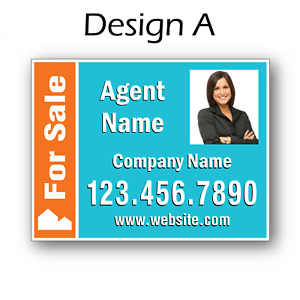25x 18 X 24 Full Color Real Estate Signs 2 Sided Corrugated Plastic 25pack