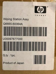 Hp Q6665 60064 Wiping Station Assembly Designjet 9000s 10000s new Oem Stock