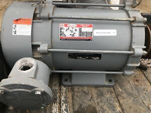 Dayton Motor Three Phase Model 3n331f Special Features