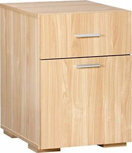 Comfort Products Modern 2 Drawer Lateral File Cabinet Oak