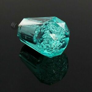 Jdm Diamond Crystal Vip Bubble Manual Drift Shift Knob 60mm Teal Universal G