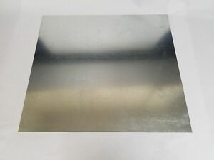Galvanized Steel Sheet Metal 24 Gauge 48 X 48 Scrap Hvac Welding Rv Camper