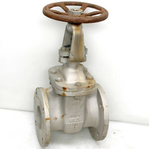 3 Stainless Steel Gate Valve Class 150 Flanged Alloy Steel Products Corp 188s