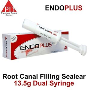 Dental Endoplus Radiopaque Obturation Permanent Root Canal Filling Sealant 13 5g