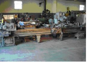 Reed Prentice 20 X 160 Long Bed Toolroom Lathe Usa 220v 3ph 1 9 16 Bore tooled