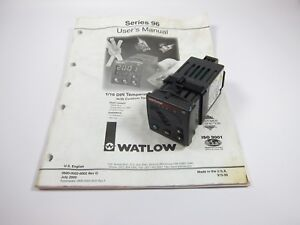 Watlow 96 Temperature Controller 96a0 kkaa 00rr 100 240v 0 5a Solid State Relay