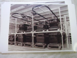 1930 s Ford Body Storage On Assembly Line 11 X 17 Photo Picture