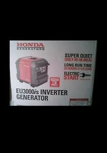 New Honda Eu3000is 2800 Watt Portable Inverter Generator