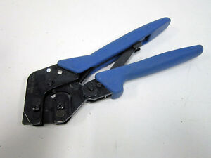 Tyco Electronics 58517 4 22 26 Awg Side Entry Ratchet Hand Crimper Tool