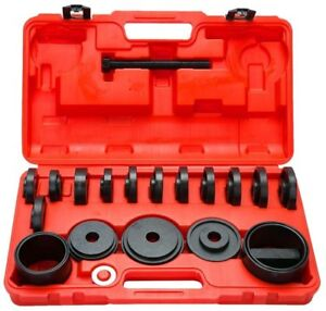 21pcs Front Wheel Bearing Press Tool Removal Adapter Puller Puller Tool S
