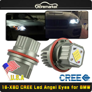 Bmw 160w Cree Xbd Led Angel Eyes Halo Ring Bulbs White Error Free For E39 M5 Usa