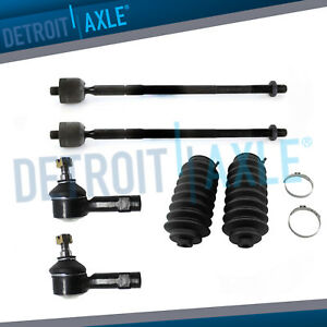 Front Inner Outer Tie Rod Boot Kit For 2007 2008 2009 Mitsubishi Outlander